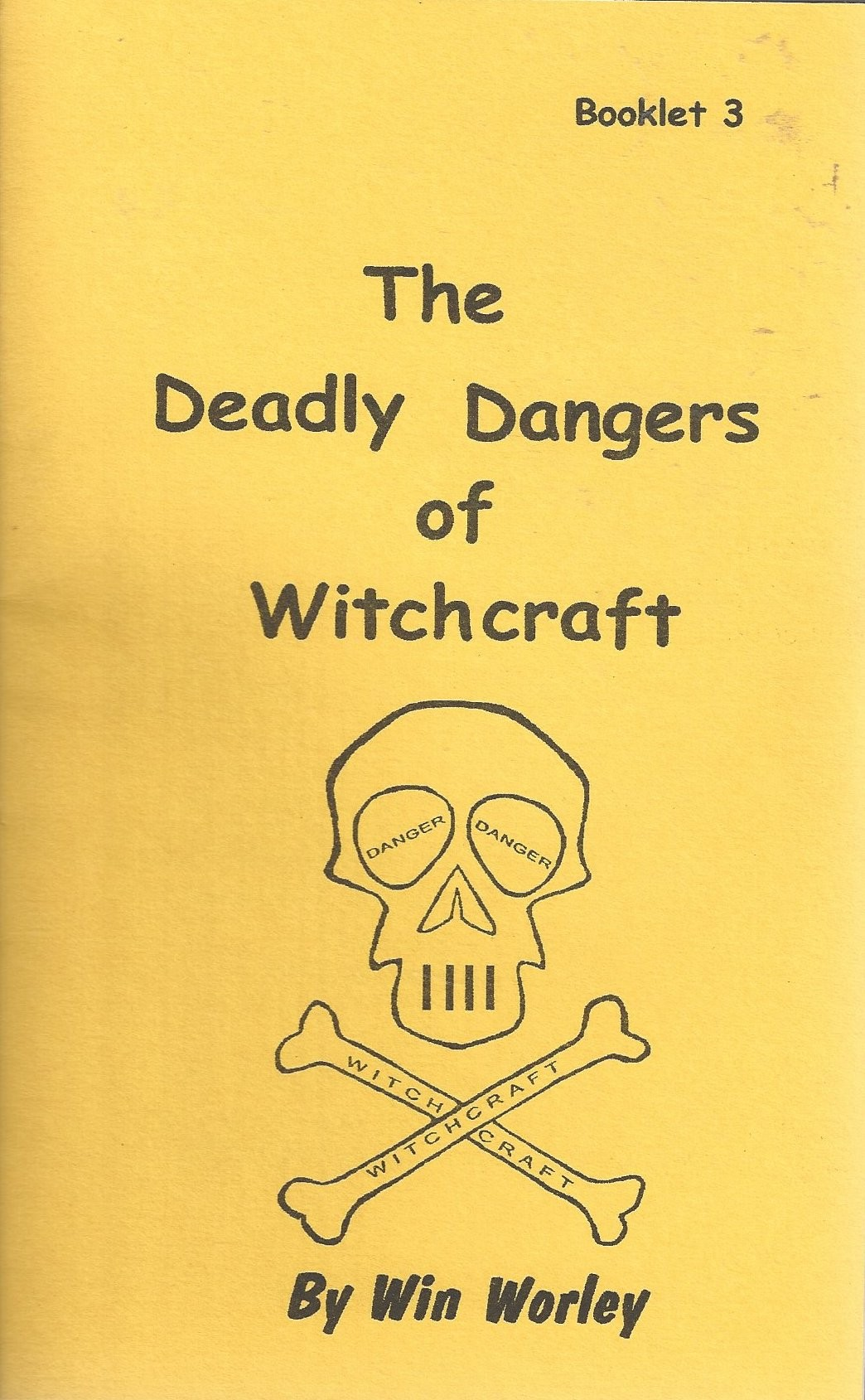 Deadly Dangers front