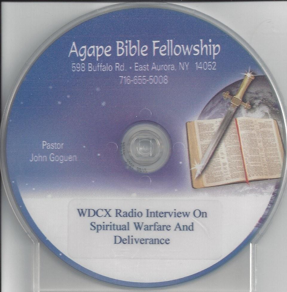 John Goguen Radio Interview on Spiritual Warefare and Deliverance
