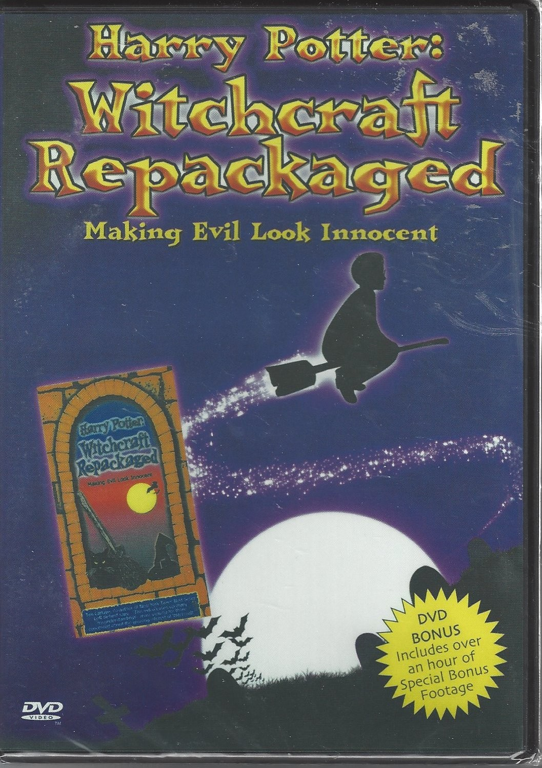 Harry Potter:  Witchcraft Repackaged  Making Evil Look Innocent    Front