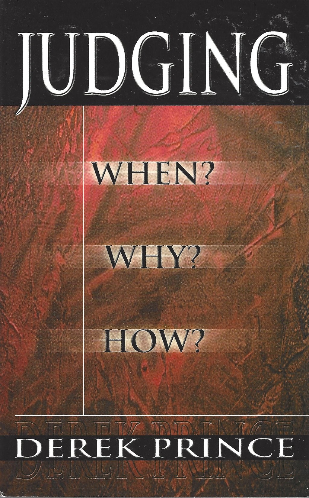 Judging  When?  Why?  How?  (2001)  Front
