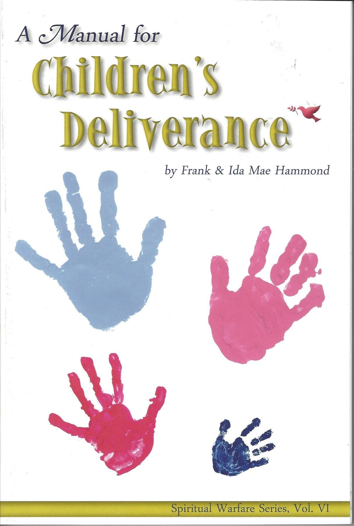 A Manual For Children U0026 39 S Deliverance  1996