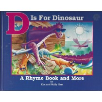 D Is For Dinosaur  (1991)  Front