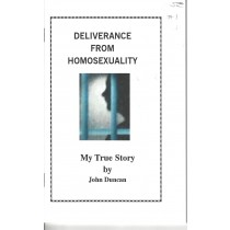 Deliverance from Homosexuality front