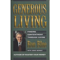 Generous Living   Finding Contentment Through Giving   (1997)  Front