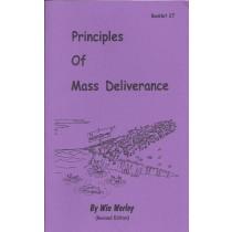 Principles of Mass Deliverance