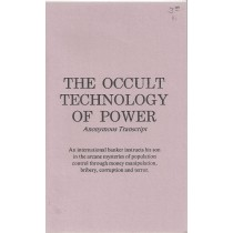 The Occult Technology Of Power  Front
