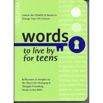 Words To Live By For Teens  (2004)  Front